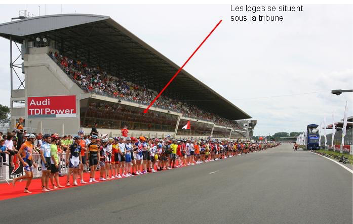loges emplacement circuit 24 heures rollers